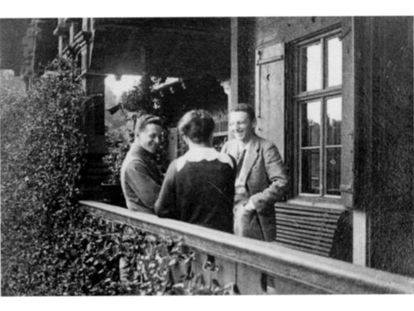Ludwig, Helene y Paul Wittgenstein, en una imagen antes de la I Guerra Mundial.