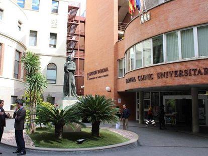 Hospital Clínico de Valencia.