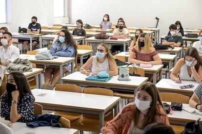 Arranque del curso con en la Universidad Politécnica de Valencia.