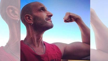 Dani Roviera, en una imagen publicada este sábado en su cuenta de Instagram.