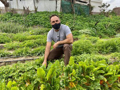 Rafael Monge, en su navazo Cultivo Desterrado. J. C. CAPEL