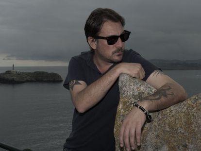 El escritor Ray Loriga en La Magdalena, Santander