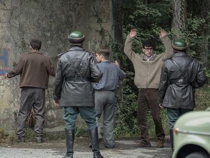 Una imagen de la serie 'La línea invisible'.
