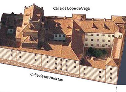 La cripta, el retablo, el claustro y la huerta son los posibles lugares del enterramiento.