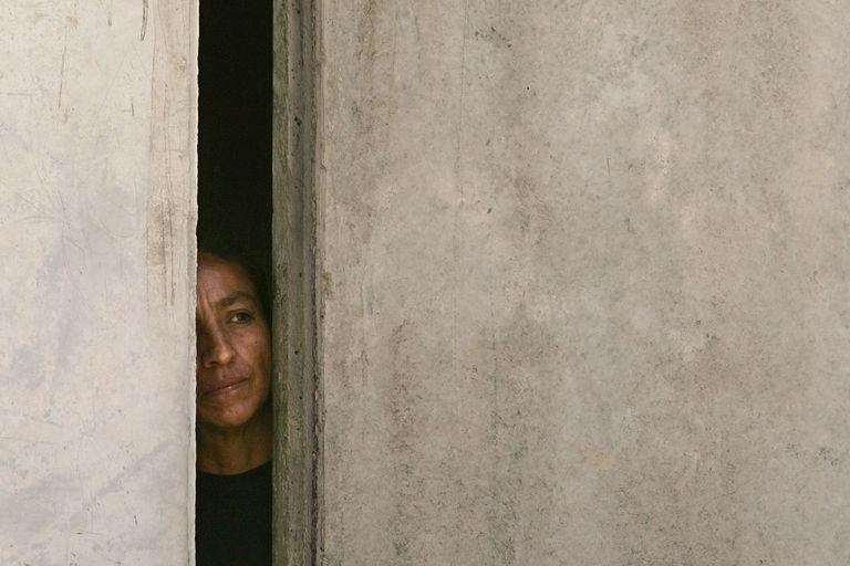 Una reclusa en la cárcel para mujeres Santa Martha Acatitla de Ciudad de México.