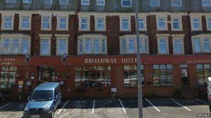 Imagen de Google de la la fachada del hotel.