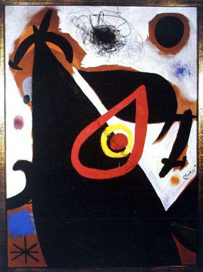 El falso 'Personnage Oiseau', de Miró.