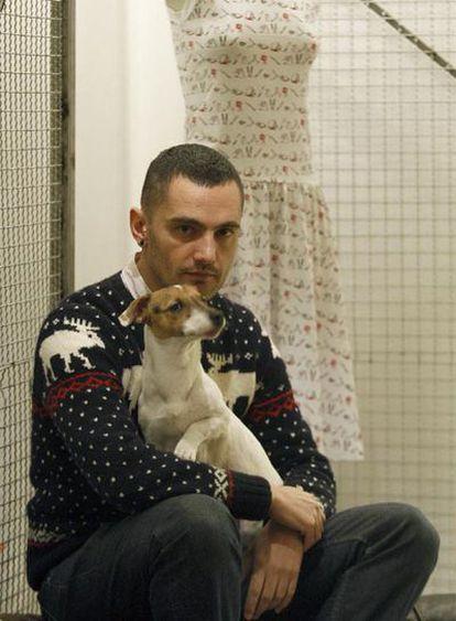 David Delfín, fotografiado el lunes en Madrid.