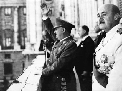 Francisco Franco en 1949.