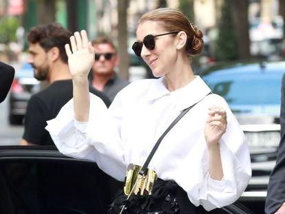 La cantante Céline Dion.