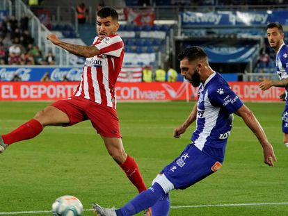 El Alavés se enfrenta al Atlético de Madrid en el partido de la Liga Santander