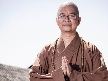 El Maestro Xuecheng, en una foto de archivo del año 2015.