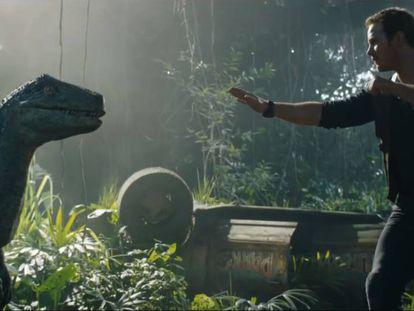Chris Pratt, en una imagen de 'Jurassic World: el reino caído'.