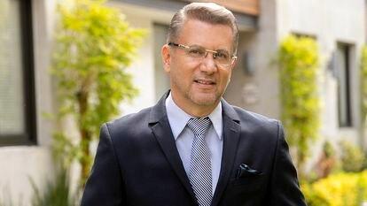 El periodista Pablo Reinah.