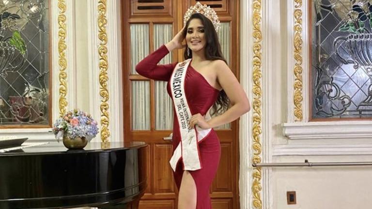 Resultado de imagem para miss mexicana Laura Mojica Romero