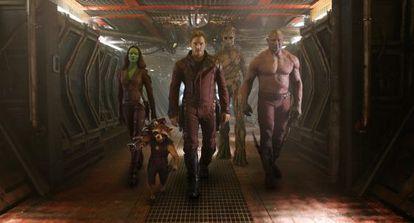 Fotograma de 'Guardianes de la Galaxia'.
