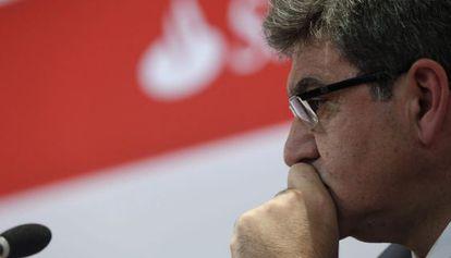 El consejero delegado del Santander en una foto de archivo.