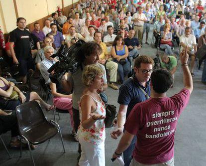 Los empleados del suburbano han votado esta mañana continuar con las jornadas de paro para reclamar que no se toquen sus salarios
