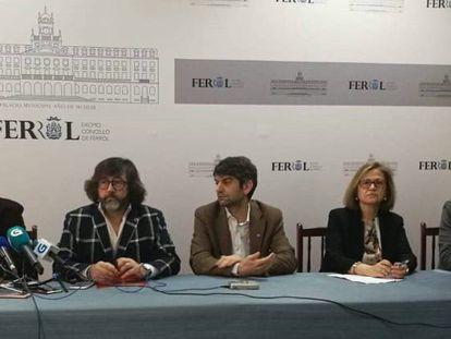 Lectura del fallo del premio este viernes en Ferrol.