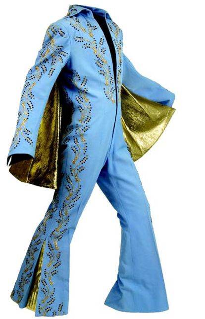 Traje que Elvis Presley lució en su única actuación en el Madison Square Garden de Nueva York