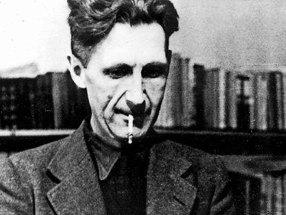 George Orwell, en una imagen de principios de los años 40.
