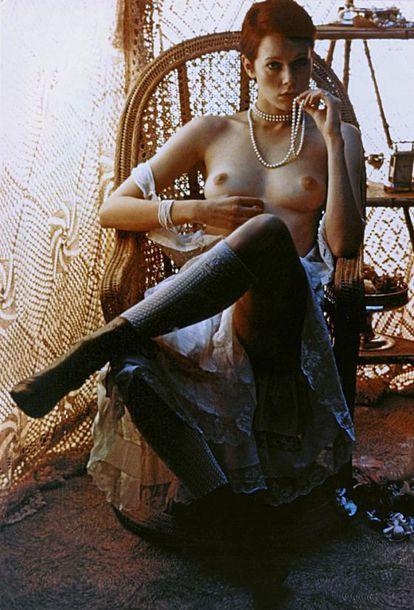 La actriz Sylvia Kristel.