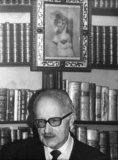 Nicolás Gómez Dávila, en una foto del archivo familiar de Rosa Emilia Gómez de Restrepo que aparece en el libro <i>Escolios a un texto implícito</i> (Villegas Editores, 2005).