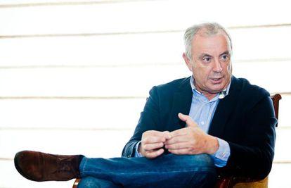 El líder de los socialistas gallegos, Pachi Vázquez