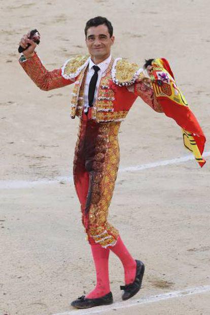 Paco Ureña, el pasado sábado en Las Ventas.