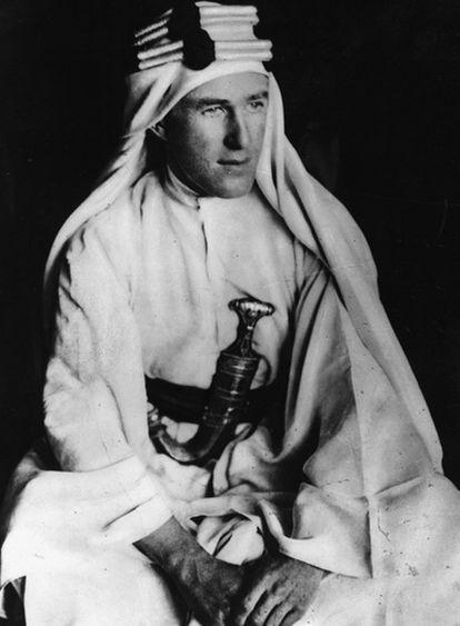 Thomas Edward Lawrence, Lawrence de Arabia (1888-1935).