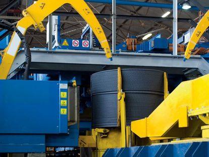 Interior de una de las fábricas de Celsa, en una imagen cedida por la compañía.