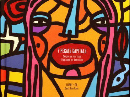 Portada del libro-disco '7 pecats capitals'.