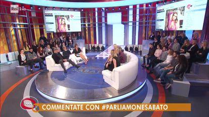 El debate de la RAI 1.
