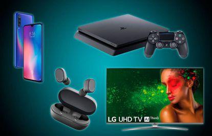 Móviles, consolas, auriculares, televisores y otras grandes ofertas del 'Black Friday' en tecnología.