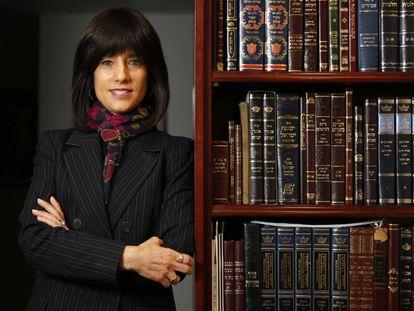 Rachel Freier, en su despacho en Brooklyn.