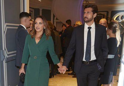 Chenoa y Miguel Sánchez Encinas en un evento en Madrid el pasado 7 de noviembre.