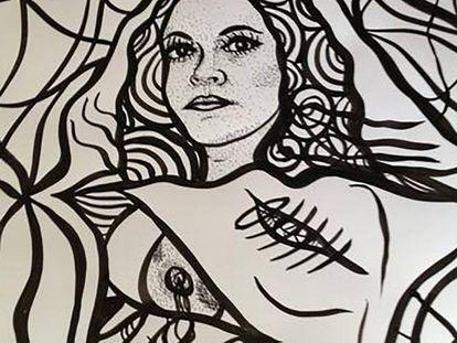 Retrato de Jineth Bedoya.