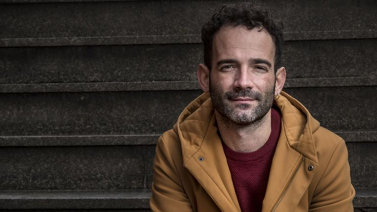 El director Luis López Carrasco, en Madrid.