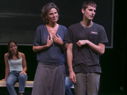 Una escena de 'La gavina', dirigida por Àlex Rigola.