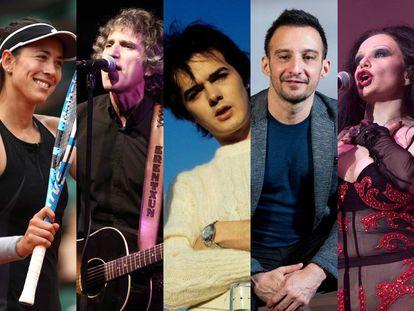 Garbiñe Muguruza, Mikel Erentxun, Antonio Morales 'Junior', Alejandro Amenábar y Alaska, algunos españoles reconocidos en diferentes facetas que nacieron fuera de España.