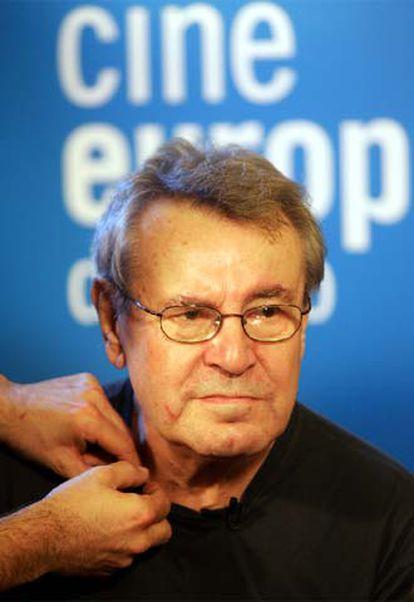 El director de cine Milos Forman.