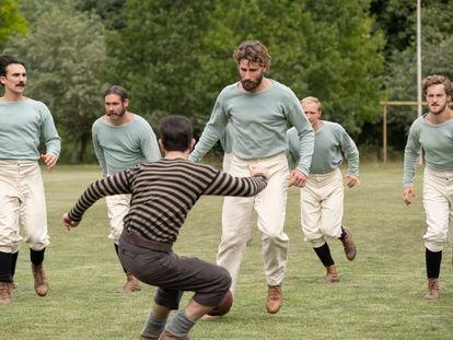 Un instante de la miniserie 'The English Game', del creador Julian Fellowes.
