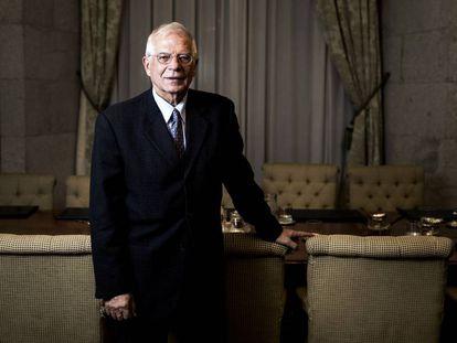 Borrell, en una entrevista en la sede del Ministerio de Asuntos Exteriores, en Madrid el pasado 30 de octubre.