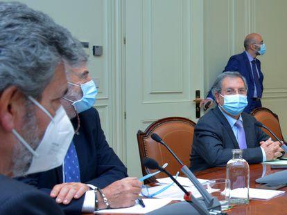 Pleno del Consejo General del Poder Judicial (CGPJ) el pasado octubre.