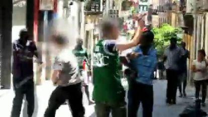 Un momento del vídeo publicado por 'Abc'.