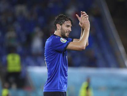 Locatelli salió ovacionado del encuentro ante Austria en el minuto 85.