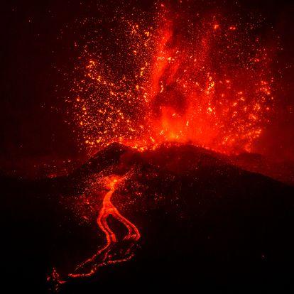DVD 1071 (21-09-21) Erupción volcánica en la Cumbre Vieja, en La Palma. Foto Samuel Sánchez