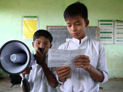 Niños solicitan compromisos a líderes políticos COP21.
