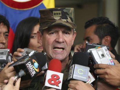 El exjefe del Ejército colombiano Mario Montoya, en una foto de archivo