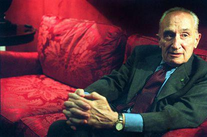 Giovanni Sartori, en 2003, en Madrid.